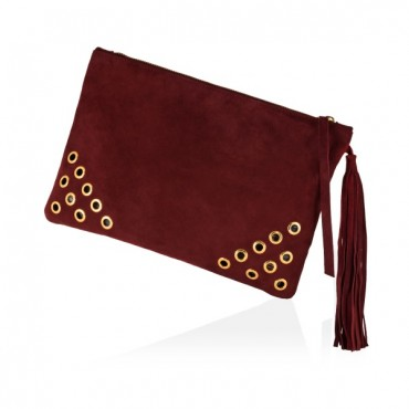 THALO POCHETTE PURPLE RED