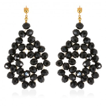 ATHINA EARRINGS WITH CRYSTALS