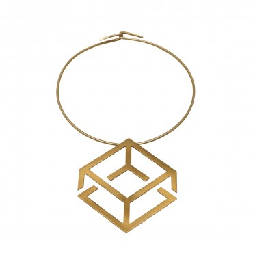 CHOKER GOLD-PLATED