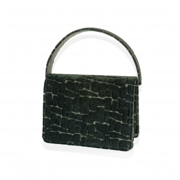 ATHENS Mini Shoulder Bag in Velvet