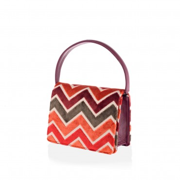 ARTTEMIS MINI SHOULDER BAG IN VELVET