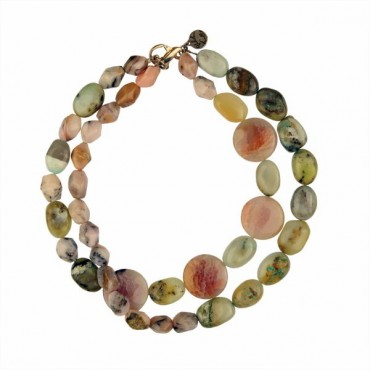 NECKLACE WITH SEMI-PRECIOUS STONES