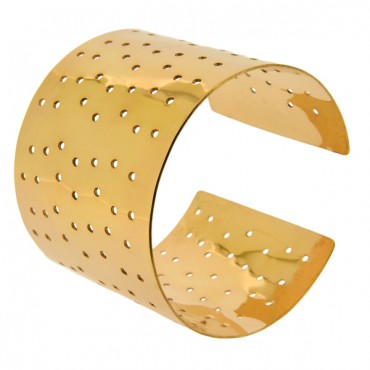 HAND-MADE BRACELET GOLD-PLATED