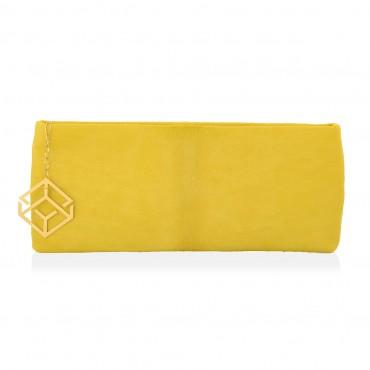 ANTIOPI Clutch  Bag  Calf Hair Snakeskin