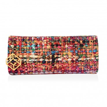 SEMELI Clutch Bag Velvet  Fabric