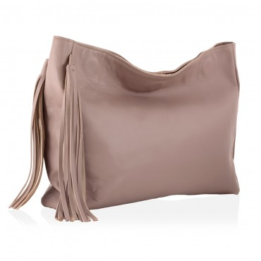 IRIS Clutch  Leather